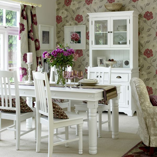 17 Best ideas about Shabby Chic Dining Room on Pinterest Rustic