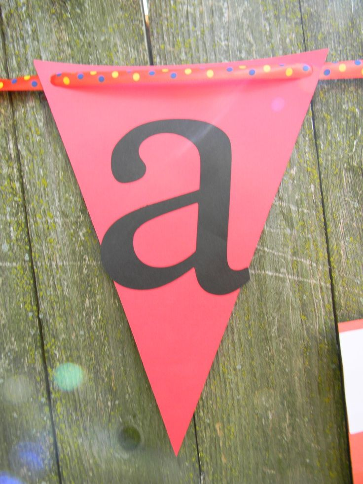 cricut + party decoration | So easy to make custom party decoration and affordable - cardstock and ...