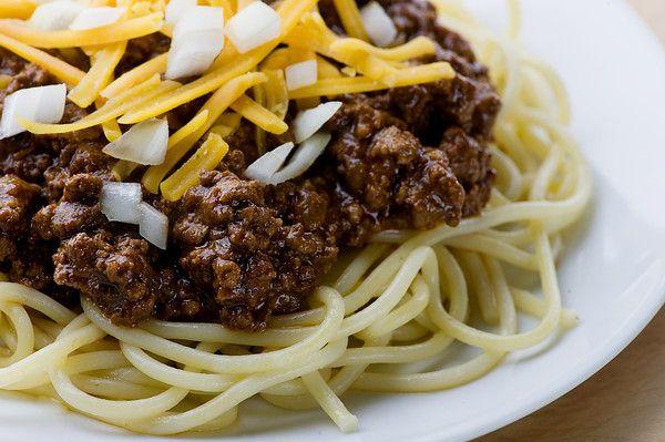 Cincinnati Chili XLIII Recipe | Food: Dinner Entrées | Pinterest
