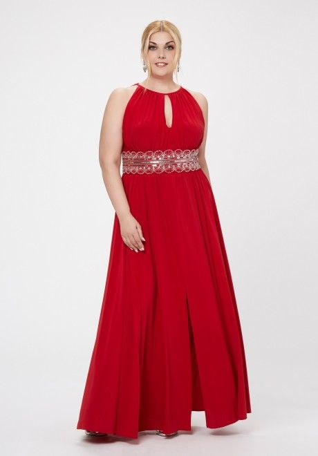 H m vestido rojo 2013 nhl