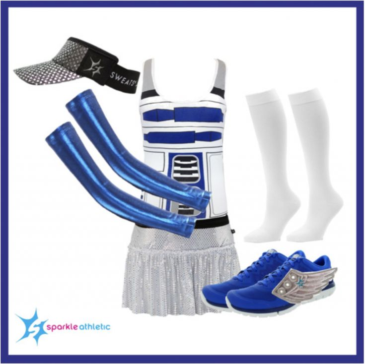 R2D2 Running Costume | runDisney | Running | Race Costume | Disney | Sparkle Athletic | #TeamSparkle | Halloween | Athletic Costume | Star Wars