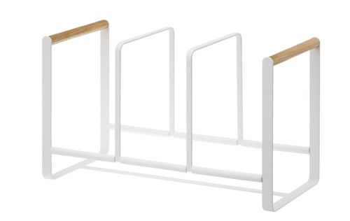 Triple vertical plate rack - Scandi inspired
