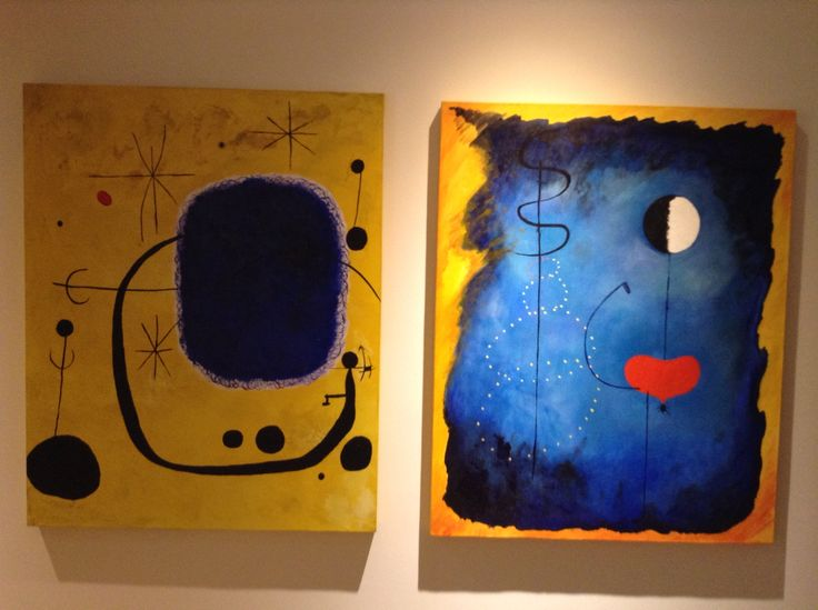 Interpretación libre obras de Miró
