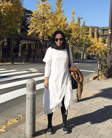 Gaya Hijab saat Di Luar Negri