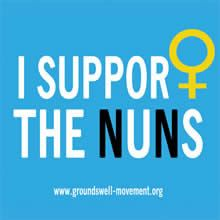 FREE 'I Support the Nuns' Stickers on http://www.icravefreebies.com