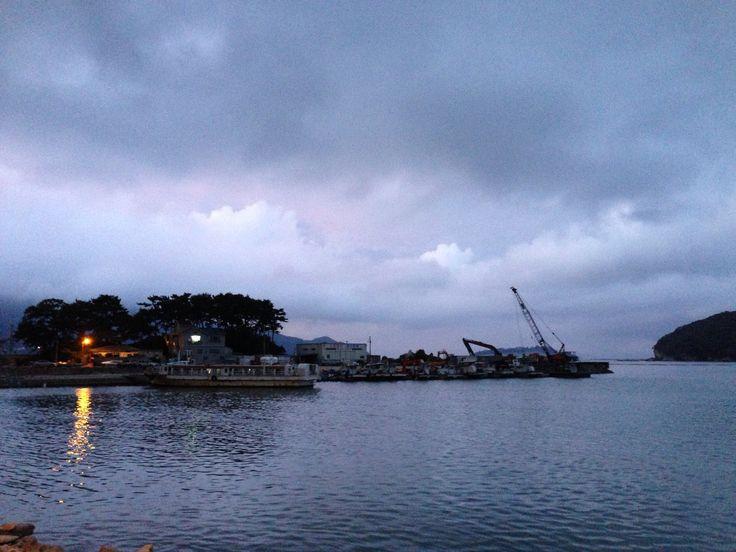 미조항. Mijo harbor.