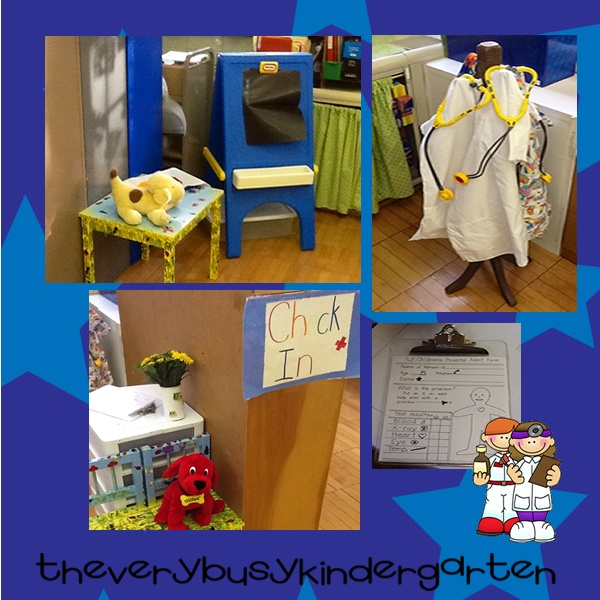 dramatic play ideas @ The Very Busy Kindergarten: Centers
