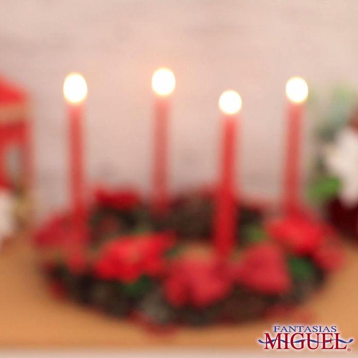 Celebra el Adviento con esta increíble corona de Adviento ¡Hazla tu mismo! Christmas Time, Christmas Crafts, Christmas Decorations, Holiday, Candle Holder Decor, Birthday Candles, Watermelon, Diy Crafts, Creative