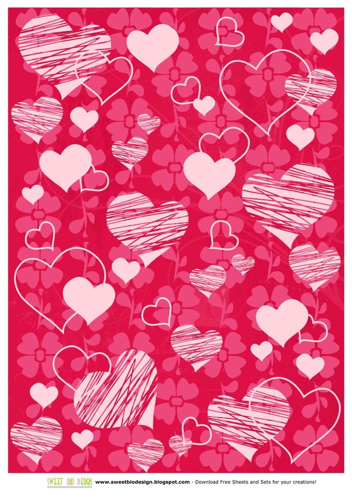 printable paper love