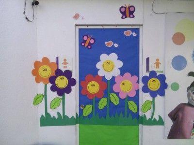 Las 25 mejores ideas sobre puerta del aula en pinterest for Puertas decoradas primavera