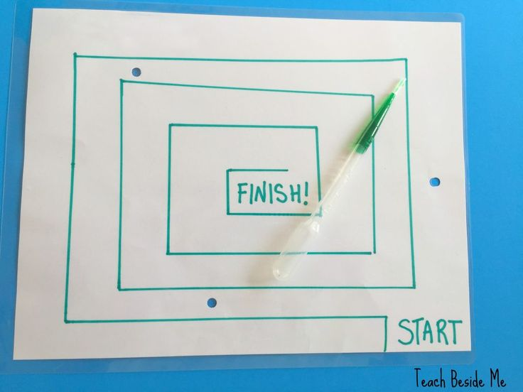 Make a Water Drop Maze- Fun game for kids