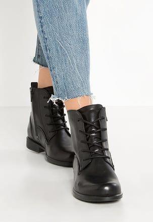 Tendance Chaussures 2017  TOUCH   Bottines à lacets  black