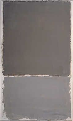 Mark Rothko, Untitled grey painting.1969
