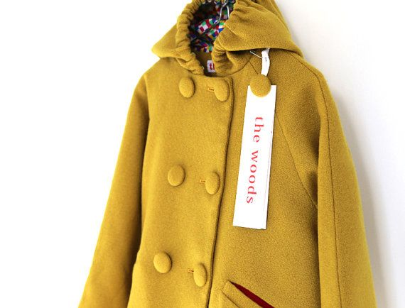 Confetti Coat by the woods children