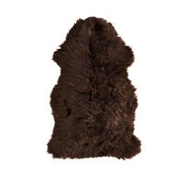 IKEA SKOLD sheepskin Wool is soil-repellent and hard-wearing.