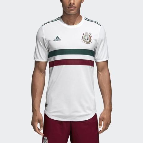 807a6b4c4c5b2 Nueva camiseta Adidas blanca de México para Rusia 2018