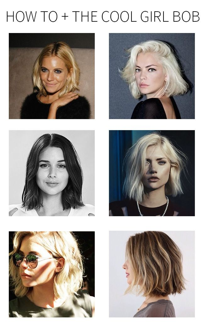 how to + the cool girl bob | Whimsical Charm - bottom left