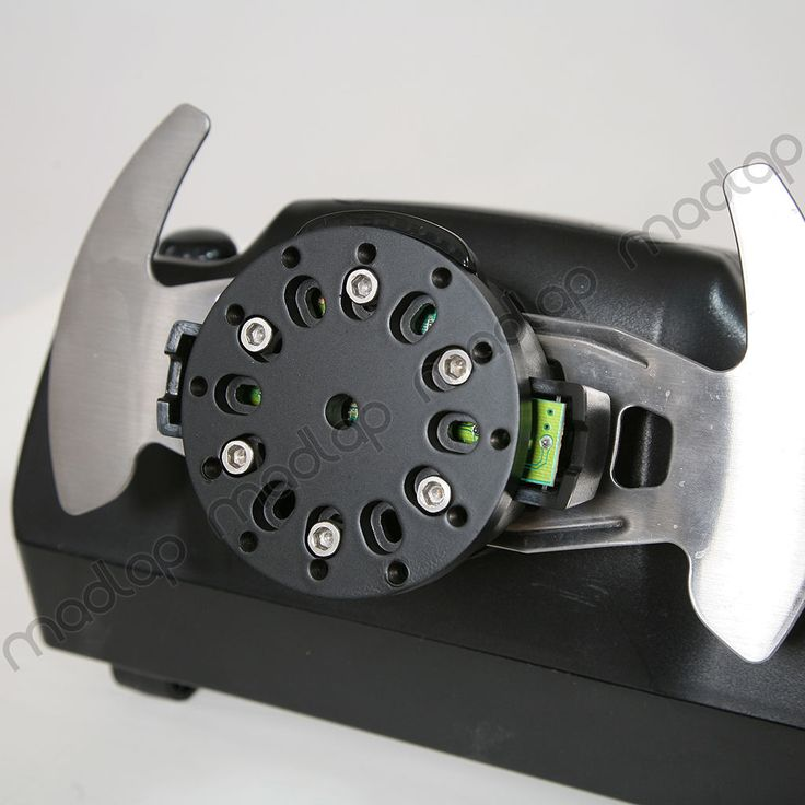 Custom logitech g25 and g27 slim quick release steering wheel