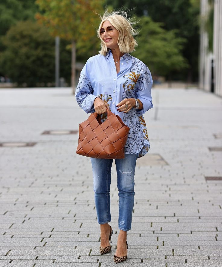 Breuninger Düsseldorf: Edle Jeans Outfits - 6 verschiedene ...