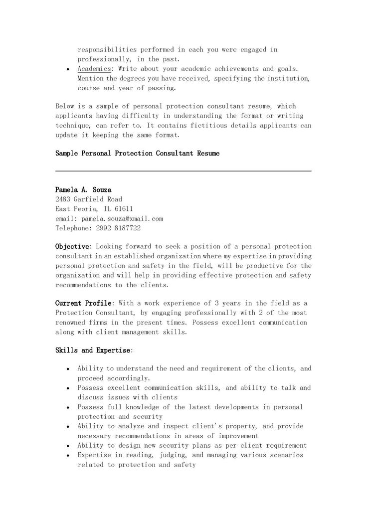 What is the Very Best Non Lethal Self-Defense Gadget To Carry - sample personal protection consultant resume