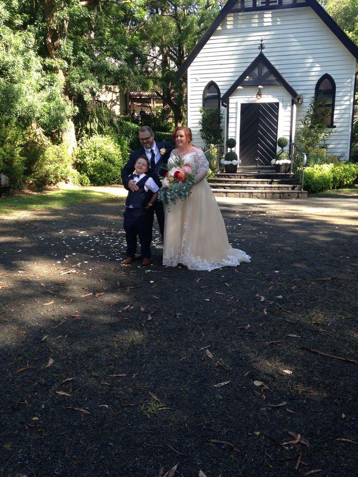 Mark and Karina, November, 2017 Chateau Wyuna, Mount Evelyn