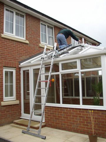 Ladders To Access Conservatory Roof In 2020 Conservatory Roof Image House Conservatory