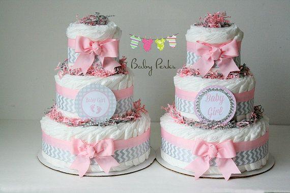 Baby shower - Gâteau de couches