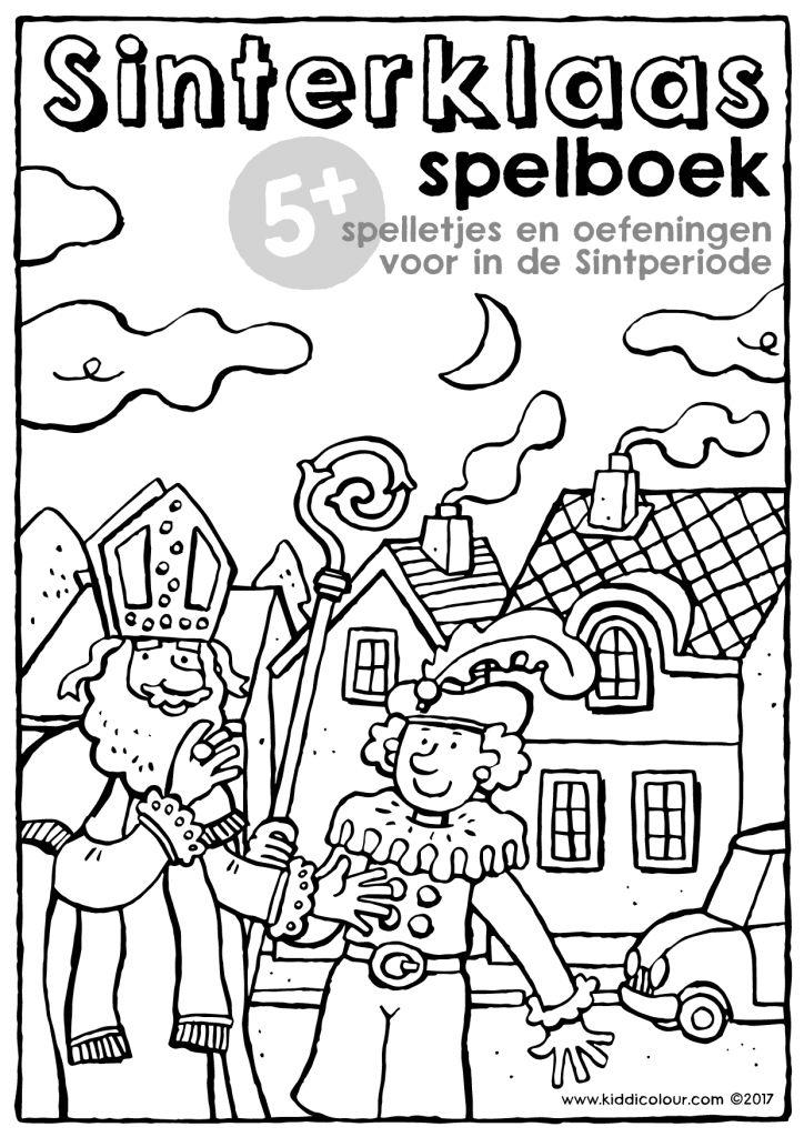 gratis downloads kiddicolour sinterklaas kleurplaten
