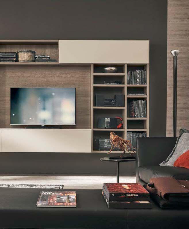 Monad mobilia   Gruppo Tomasella - italský nábytek - obývací prostor