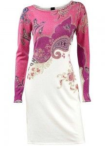 pink dress with sleeves for women over 50