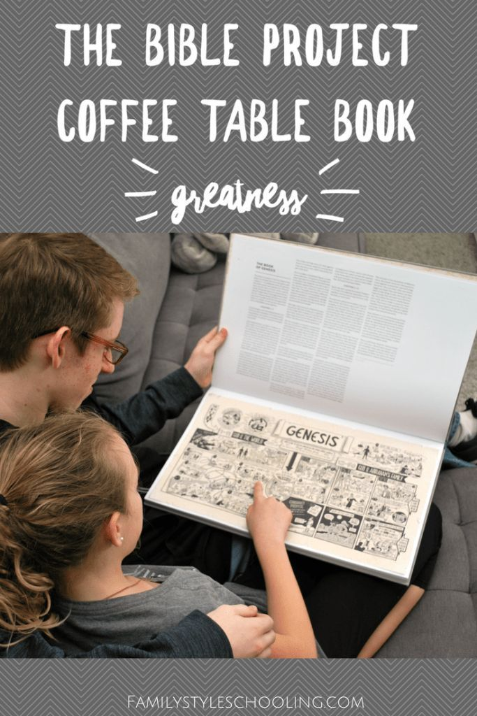 The Bible Project Coffee Table Book Greatness Family Bible Study
