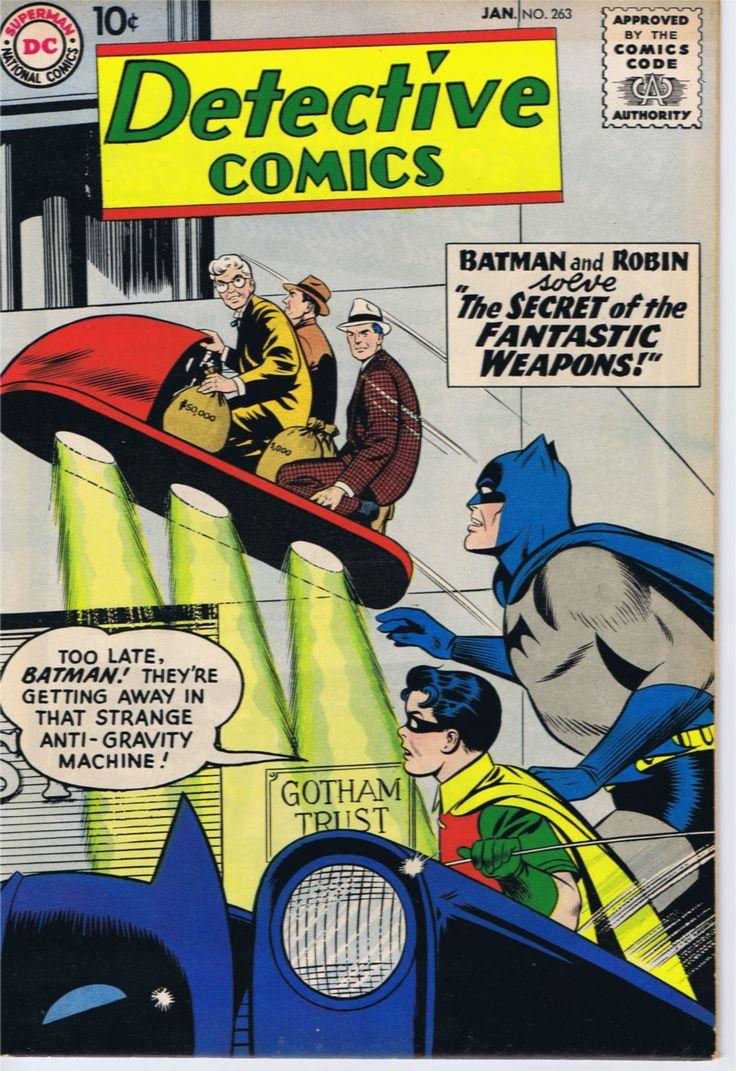 Detective Comics #263.  www.ephemeritor.com