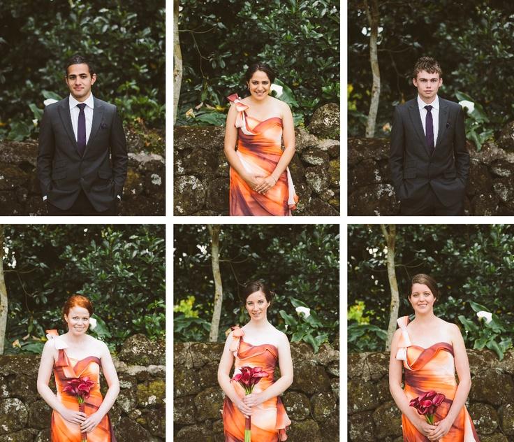 Melody + Joel Wedding Bridesmaids Groomsmen Auckland New Zealand Wedding Photographer www.threetwentythreephoto.com
