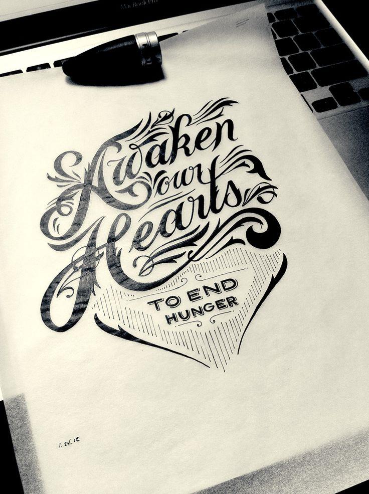Hand Drawn Type (Designed by Drew Melton)