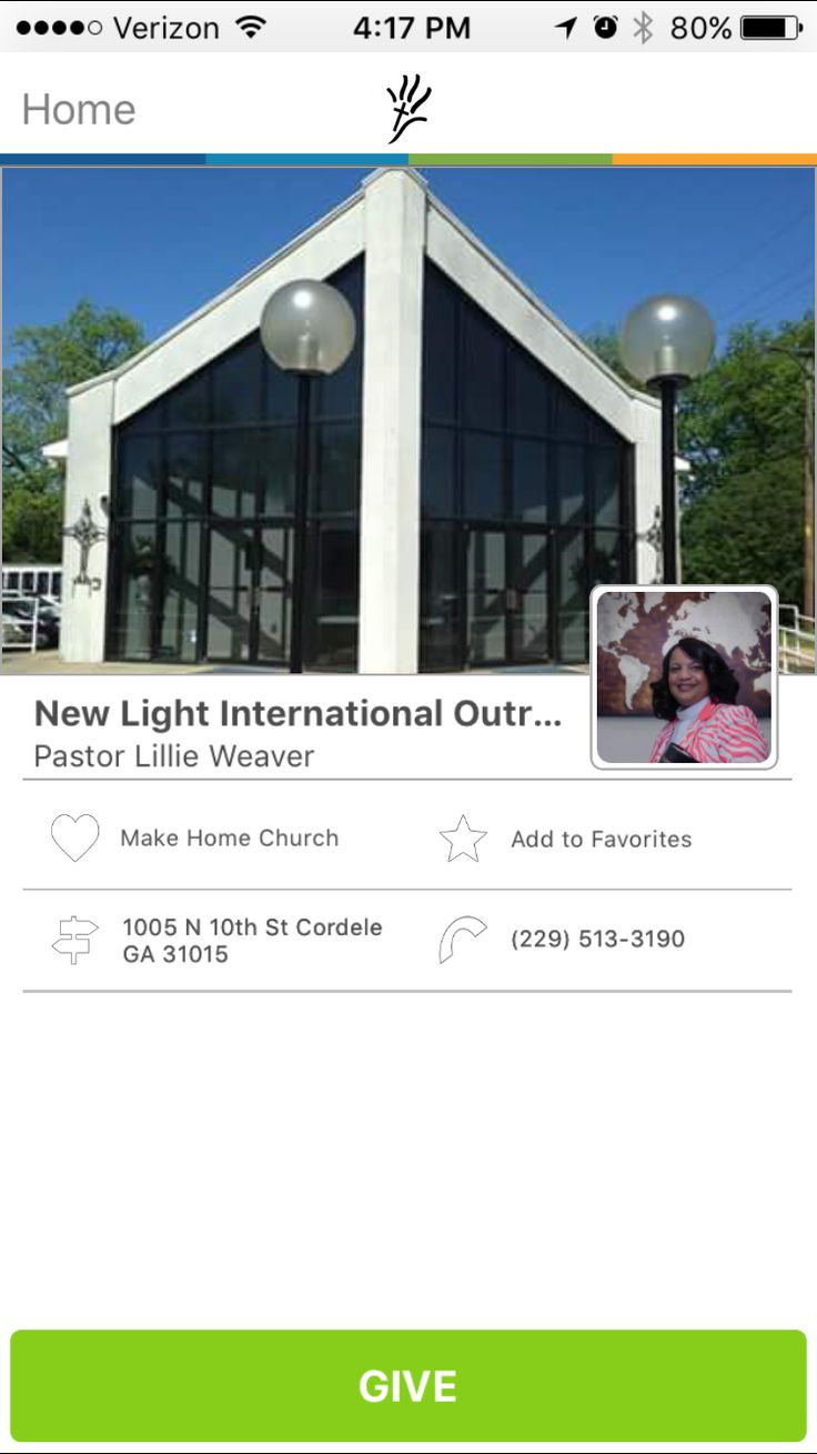 New Light International Outreach in Cordele, Georgia #GivelifyChurches