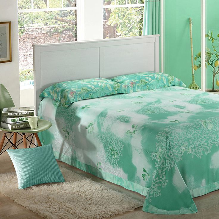 Mint Green Bedrooms For Girls Bedroom Curtains 2016 Eclectic Bedroom Furniture Bedroom Design With Bathroom: 1000+ Ideas About Mint Green Bedding On Pinterest
