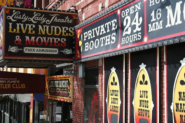 The Lusty Lady! San Francisco - Lusty Lady Theatre by Nick Gripton, via Flickr