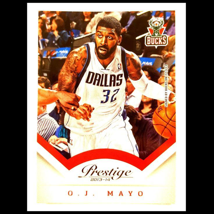 O. J. Mayo Basketball Card (2013-14 Panini Prestige)