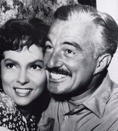 "1953 ""Pane amore e fantasia"" con Gina Lollobrigida e Vittorio De Sica."