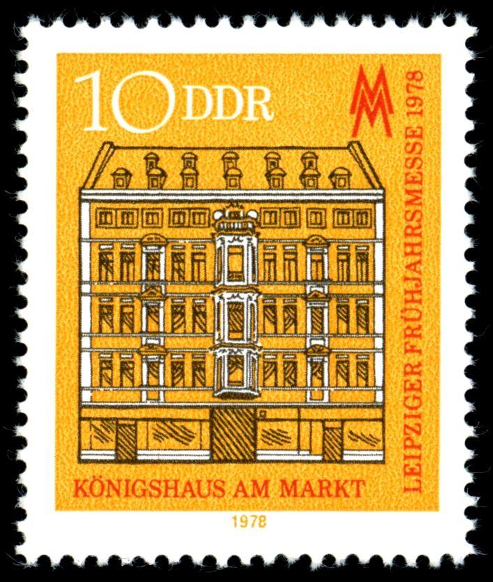 Stamps of Germany (DDR) 1978, Leipziger Frühjahrsmesse