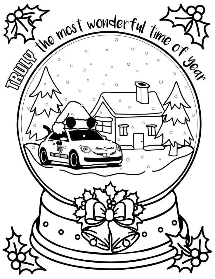Print this out for your own TRULY great coloring experience this holiday season!