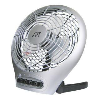 SPT 7 in. Desktop Fan with Ionizer