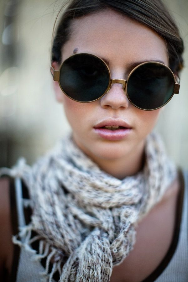Inspired Admired: Bohemian Fashion Inspiration Photos, Plus 5 Admired Boho Fashion Picks  glasses=love