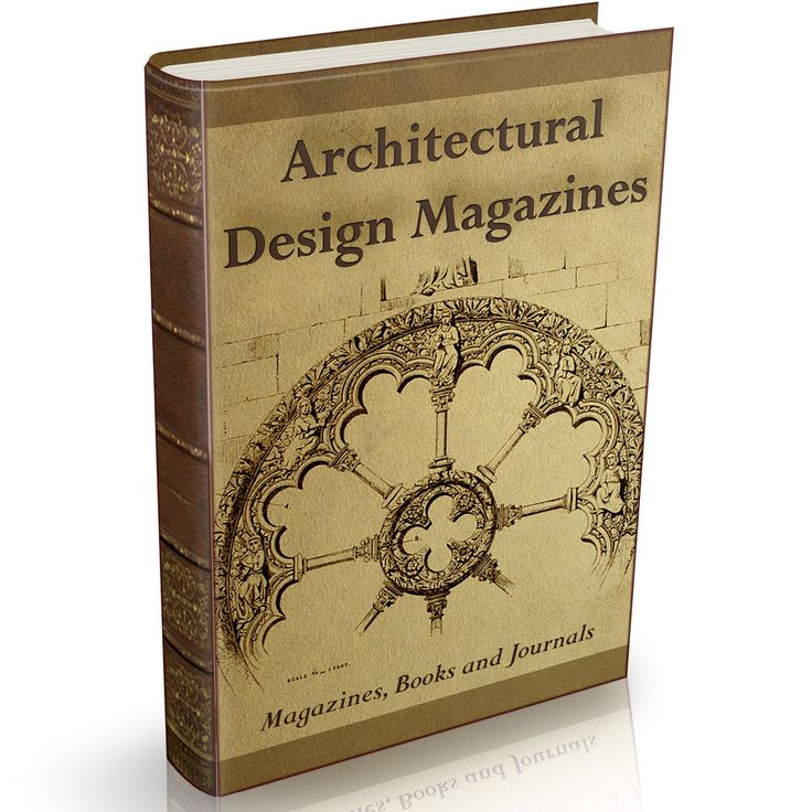 Architectural Design Magazines 247 Old Books on DVD Technical Architecture Art