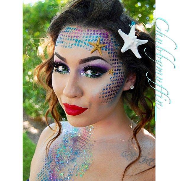 mermaid makeup