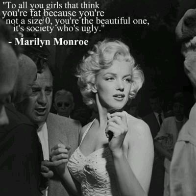Marilyn was a size 12: Girls, Marilyn Monroe, Quotes, Marilynmonroe, Norma Jeans, Truths, So True, Living, People
