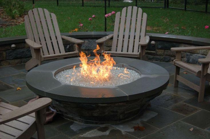 gemütliche Sommerabende Feuerstelle selber bauen
