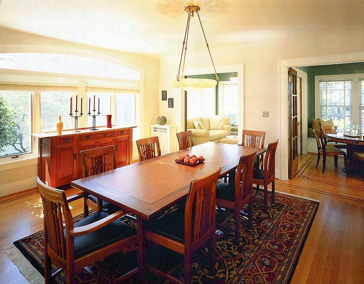 Informal Dining Rooms, Dining Room Design, Kitchen Dining, Dining Table,  Craftsman Style
