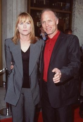 Amy Madigan & Ed Harris/....husband and wife in real life