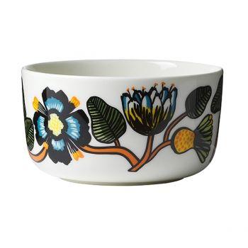 Marimekko's Oiva bowl in Tiara pattern, 5 dl